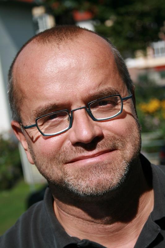 Frank Wilhelm ist Herausgeber der Buchreihe 1945. Zwischen Krieg und Frieden