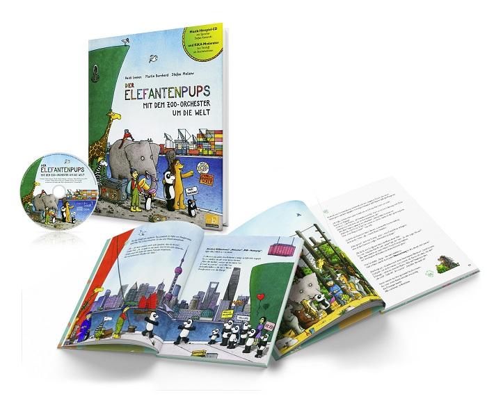 Der Elefantepups ist bei mecklenbook.de erschienen