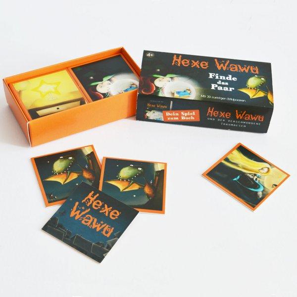 Hexe Wawu Memory Kartenspiel
