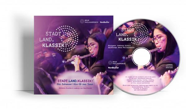 Stadt.Land.Klassik! für Zuhause! Die CD zur Tour.