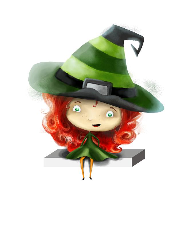 Die Hexe Wawu behütet die Träume der Kinder.