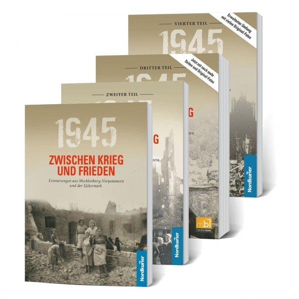 Buchset Zwischen Krieg und Frieden: Teil 1 bis Teil 4